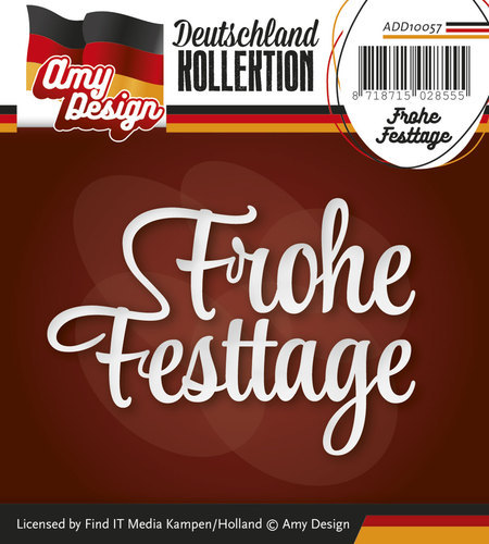 ADD10057 Amy Desing Die - Frohe Festtage