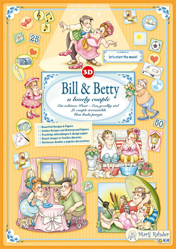 9.0004 3D Bill & Betty