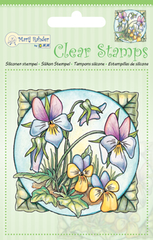 9.0030 Clear stamps violets