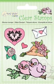9.0031 Clear Stamps Birds