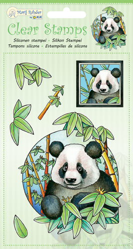 9.0034 Clear Stamps Panda