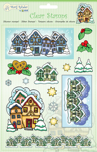 9.0039 MRJ Clear Stamps Winter