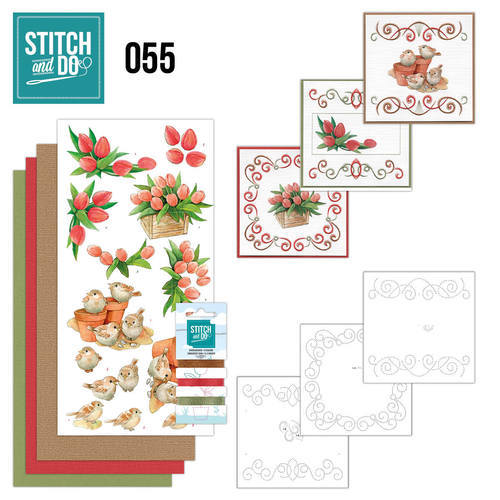 STDO055 Stitch and Do 55 - Garden Classics