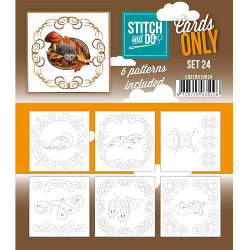 COSTDO10024 Stitch & Do - Cards only - Set 24