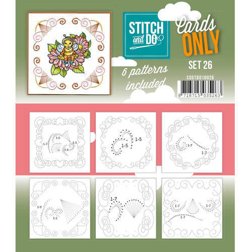 COSTDO10026 Stitch & Do - Cards only - Set 26