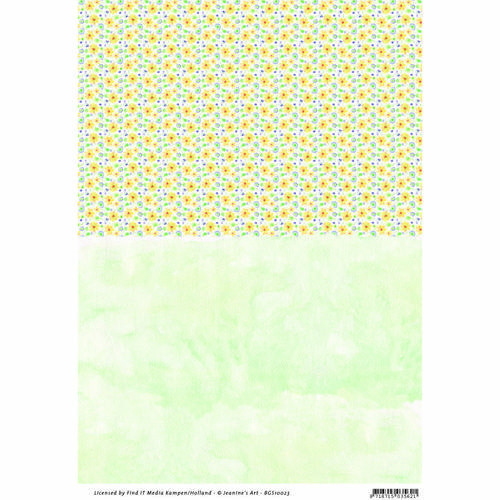 BGS10023 Background sheets - Jeanines Art - Garden Classics