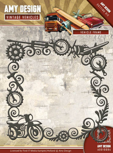 ADD10094Die - Amy Design - Vintage Vehicles - Vehicle Frame
