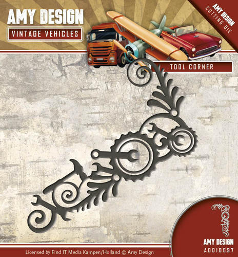 ADD10097 Die - Amy Design - Vintage Vehicles - Tool Corner