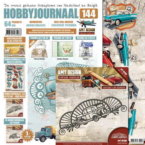 SETHJ144 Hobbyjournaal 144 - SET ADD10095