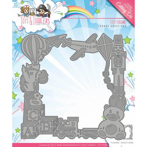 YCD10089 Die - Yvonne Creations - Tots and Toddlers - Toy Frame