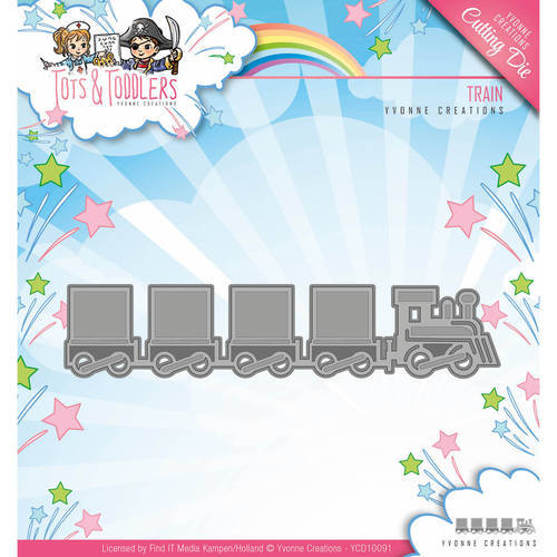 YCD10091 Die - Yvonne Creations - Tots and Toddlers - Train