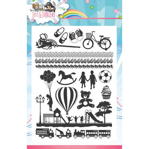 YCCS10030 Clearstamp - Yvonne Creations - Tots and Toddlers