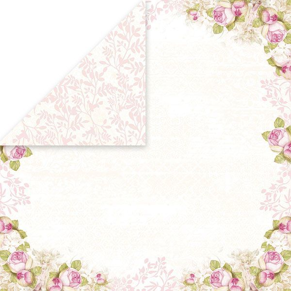 CP-WD06 WHITE DAY Scrapbooking single paper 12 x12 , 200gsm 10pcs