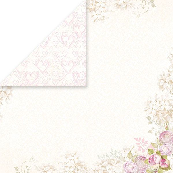 CP-BS01 BIRD SONG Scrapbooking single paper 12x12, 200gsm