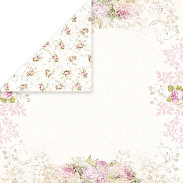 CP-BS03 BIRD SONG Scrapbooking single paper 12x12,200gsm
