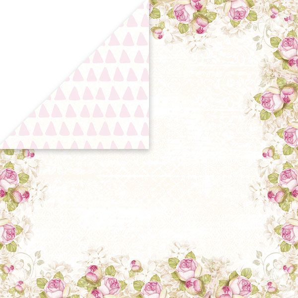 CP-BS04 BIRD SONG Scrapbooking single paper 12x12,200gsm