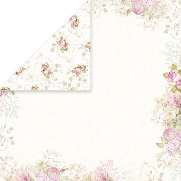 CP-BS05 BIRD SONG Scrapbooking single paper 12x12,200gsm