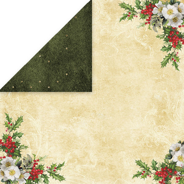 CP-WC04 WHITE CHRISTMAS Scrapbooking single paper 12x12(200gsm)