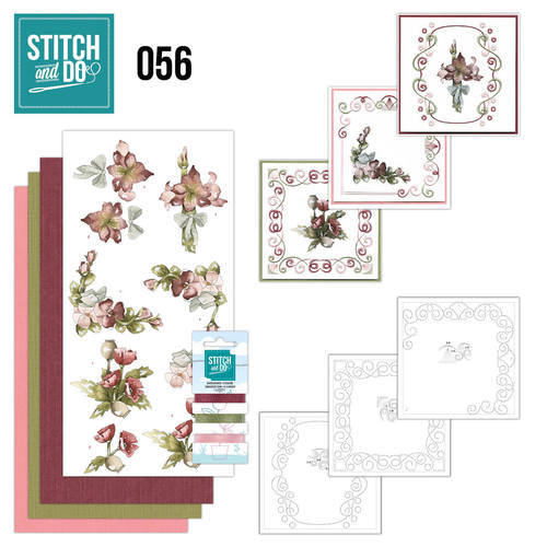 STDO056 Stitch and Do 56 - Fantastic Flowers