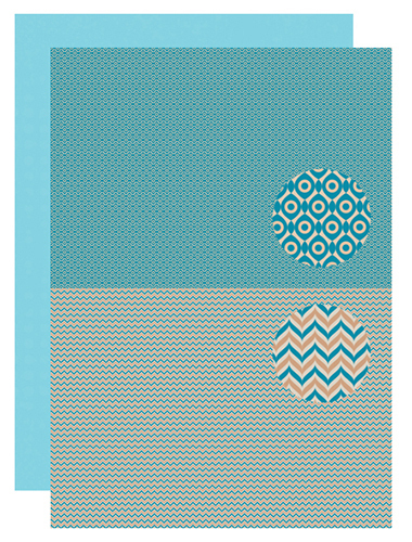 NEVA090 Background sheet - Men-things - Zigzag