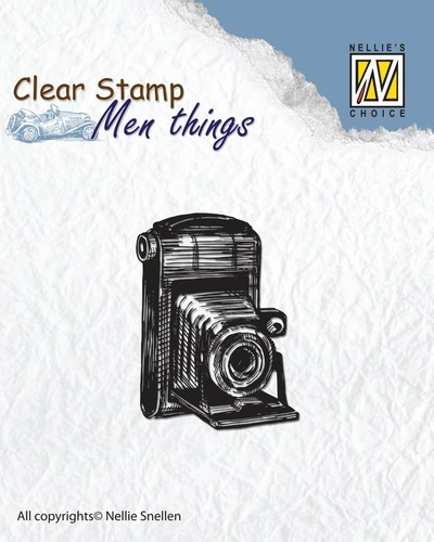 CSMT001 Clear stamps - Men things - Camera