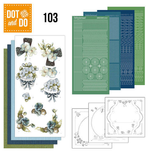 DODO103 Dot and Do 103 - Fantastic flowers