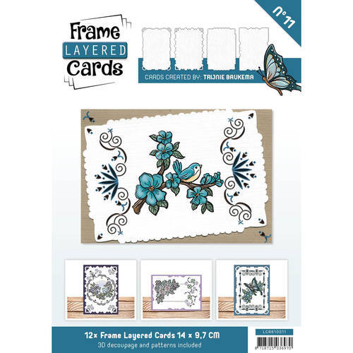 LCA610011 Frame Layered Cards 11 - A6