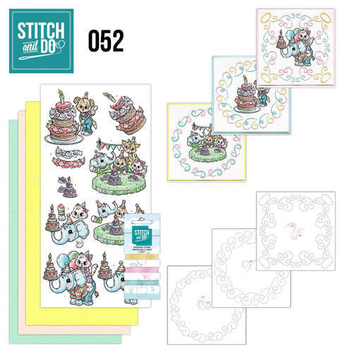 STDO052 Stitch and Do 52 - Tods and Toddlers