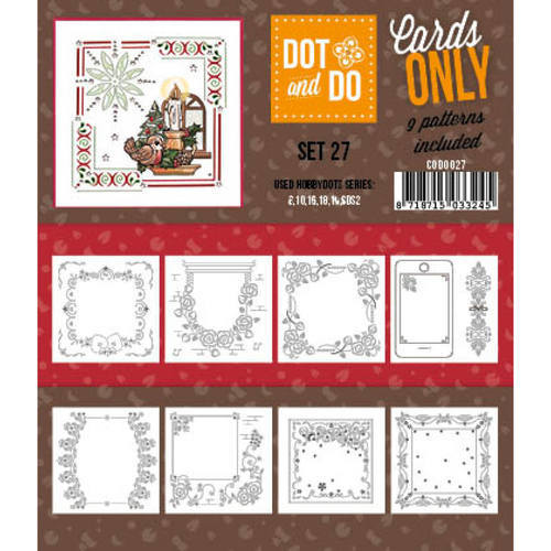 CODO027 Dot & Do - Cards Only - Set 27