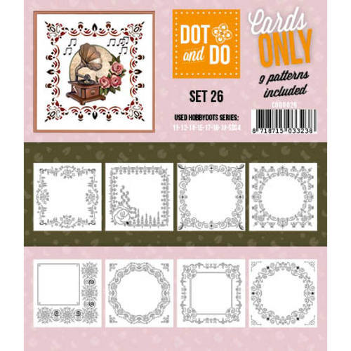 CODO026 Dot & Do - Cards Only - Set 26