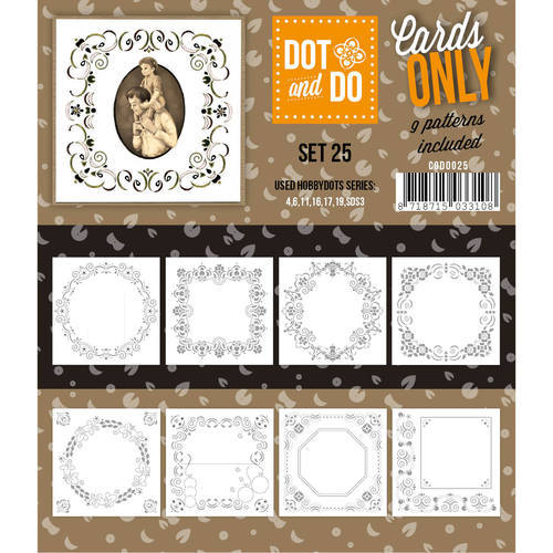 CODO025 Dot & Do - Cards Only - Set 25