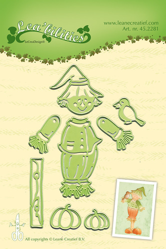 Lea'bilitie® Scarecrow  cut and embossing die