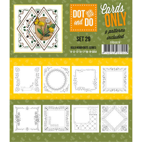 CODO029 Dot & Do - Cards Only - Set 29