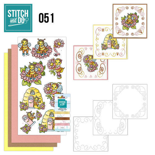 STDO051 Stitch and Do 51 - Bijtjes