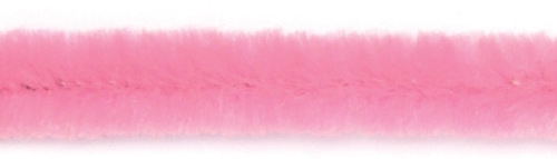 4597-09457 Chenille draad 9mmx50cm pink 10st
