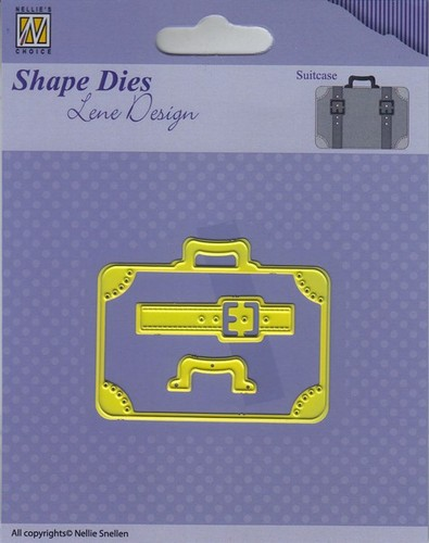 SDL037 Shape Dies - Lene Design - Men things - Suitcase