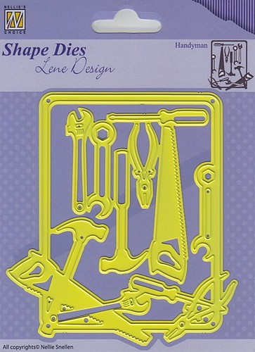 SDL040 Shape Dies - Lene Design - Men things - Handyman