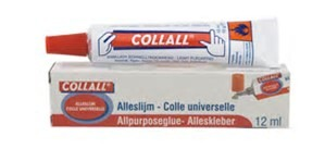 COLAL050DS Collall Lijm tube alleslijm 50 ML 1 DS (12 TB)