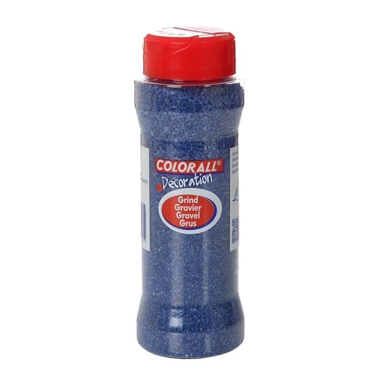 COLFK27501 Colorall Decoratie grind blauw 275gr