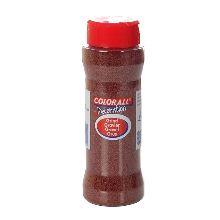 COLFK27510 Colorall Decoratie grind rood 275gr