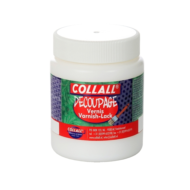 COLVDW250GL Colorall - Vernisfix-Decoupage 2 Glans 250ml
