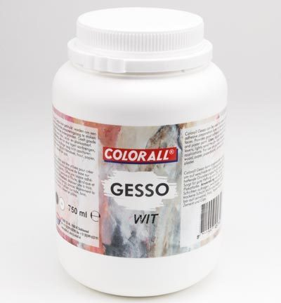 COLGS75066 Colorall Gesso Wit 750ml / 1100gr.