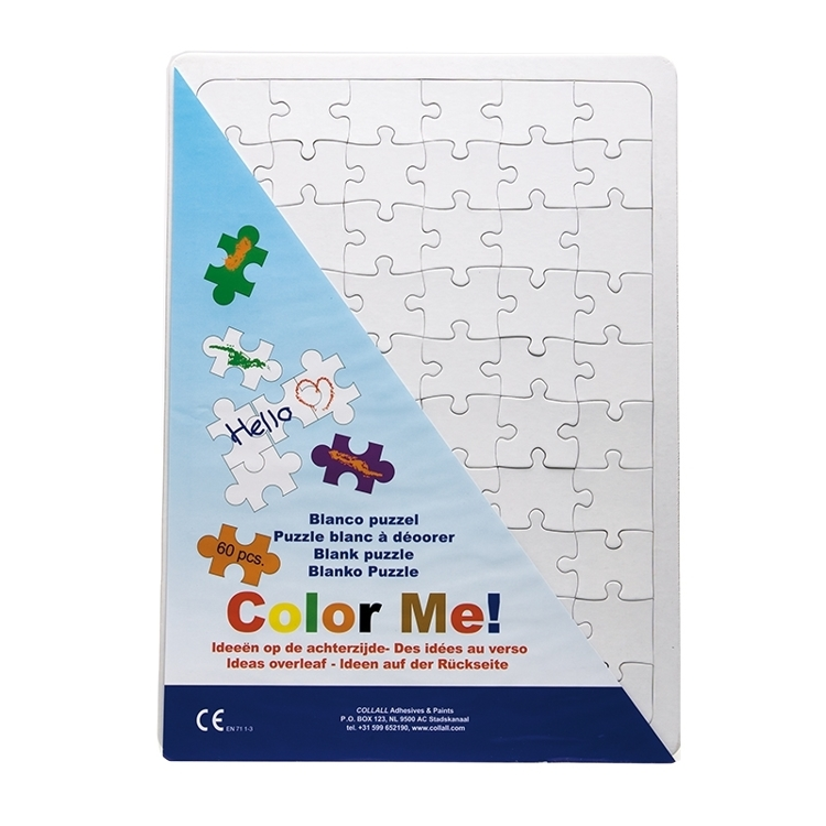 COLPUZZLEA3 Collall Color Me Blanco Puzzle A3