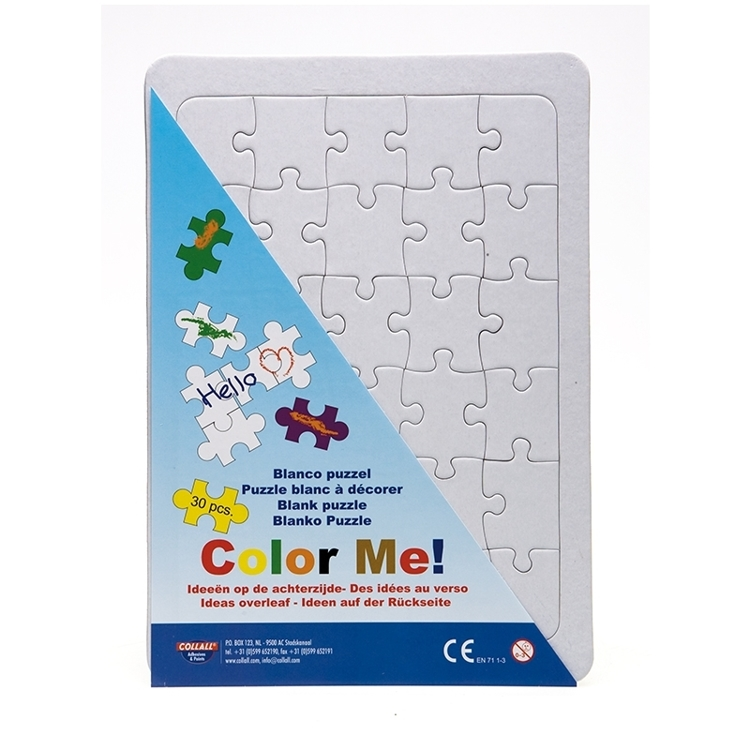 COLPUZZLEA4 Collall Color Me Blanco Puzzle A4