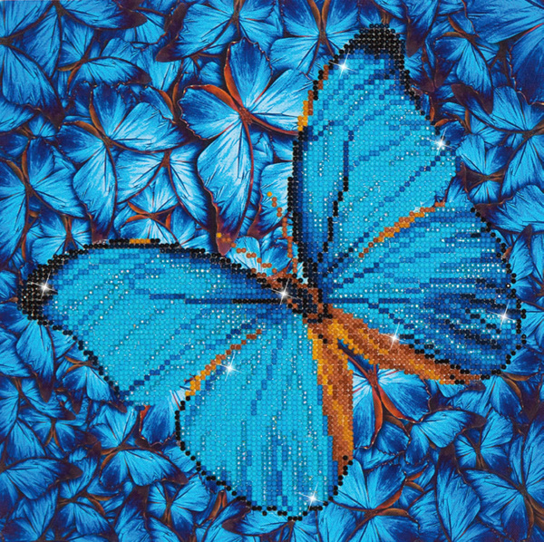 DD5.014 Diamond Dotz - 30,5x30,5cm - Flutter by Blue