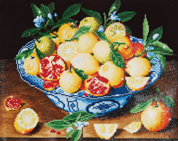 DD10.003 Diamond Dotz - 52x42cm - Still Life with Lemons