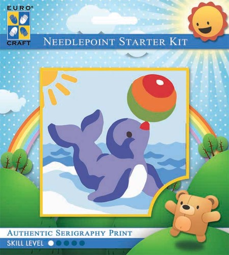 1043K - Eurocraft NEEDLEPOINT KIT 10x10cm Balancing Seal