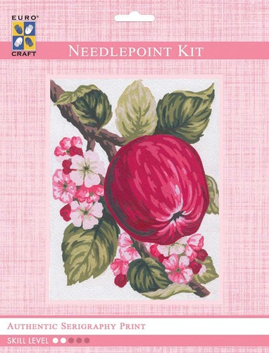 3159K - Eurocraft NEEDLEPOINT KIT 14x18cm Apples