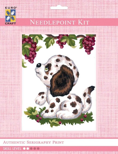 3195K - Eurocraft NEEDLEPOINT KIT 14x18cm Dalmation Puppy