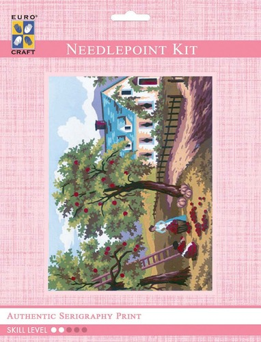3210K - Eurocraft NEEDLEPOINT KIT 14x18cm Summer